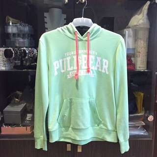 ORIGINAL Pull and Bear Milky Green Hoodie