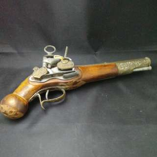 Antique Wooden Gun