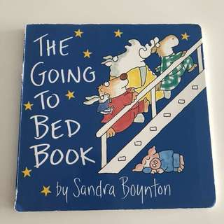 The Going To Bed Book Board Book