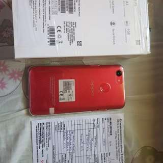 Swap or sale Oppo F5 Red 4gb 32 rom