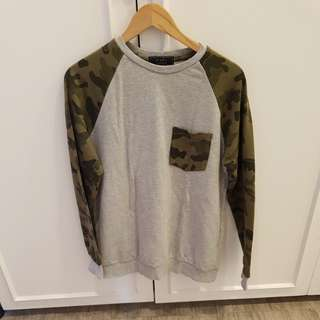 Forever 21 Camo sweatshirt