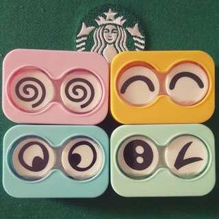 Cutie contact lens case