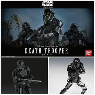 Death Trooper 1/12 Bandai Model Kit