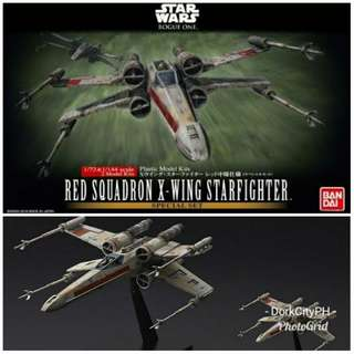 Red Squadron X-Wing Bandai Model Kit