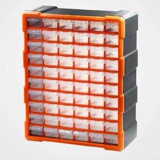 多用途 零件 分類 儲存 收納 60格盒