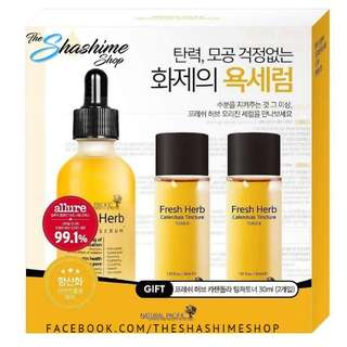 PREORDER NATURAL PACIFIC Fresh Herb Origin Serum Set ( 50ml serum + 30ml*2 mini tincture toner)