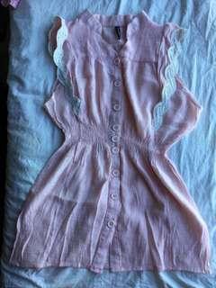 Nafnaf baby pink top