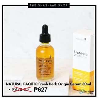 Preorder Natural Pacific Fresh Herb Origin Serum 50ml