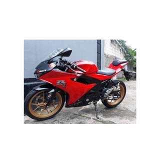 SUZUKI GSX R150 2017 warna RED