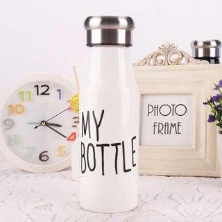 botol minum/tempat minum/ botol plastik/ my bottle tumblr / tumblr / botol minum listik / tumblr termos/ botol termos/ mini termos/ botol minum my bottle/ botol 500ml