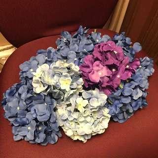婚後物資 結婚擺設 绣球花材