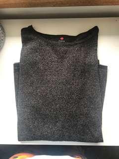 Grey jumper dark