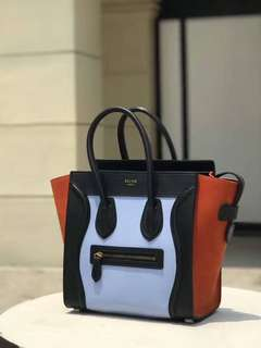 Celine Luggage Micro Bag