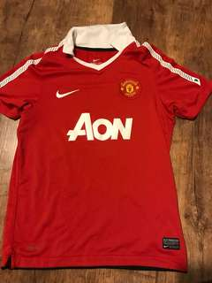 Authentic Manchester United jersey