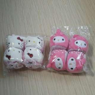 (現貨包平郵)Hello Kitty/Melody 桌/椅防磨套4個