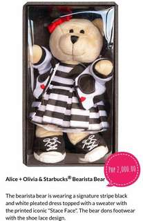 Alice + Olivia & Starbucks - Bearista Bear