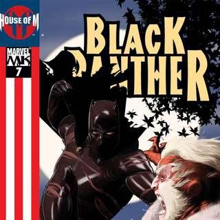 Black Panther v4 #7, 18, 23-41