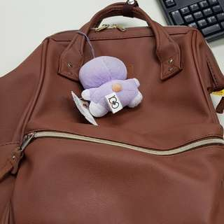 Anello PU Leather Large Back pack