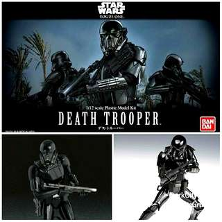 Death Trooper 1/12 Bandai Model Kit