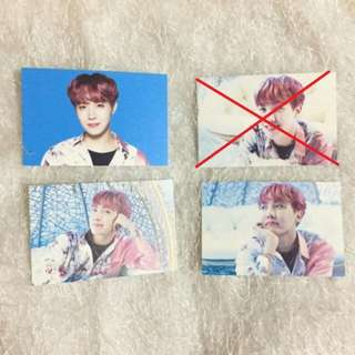 ON HAND OFFICIAL BTS Wings Tour Photocard Set Ver 1 - J-Hope Ver