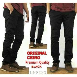 Chino Premium Black
