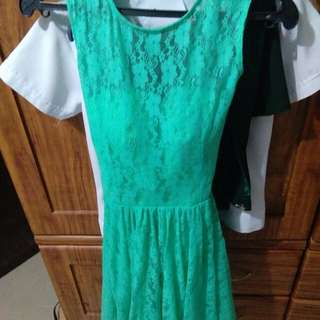 mintgreen dress