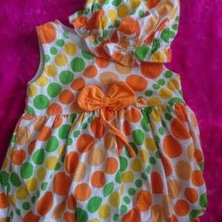 Baju Dress Bayi