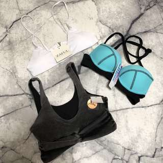 """NEW"" bikini tops"