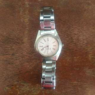 Elle Silver watch (working)