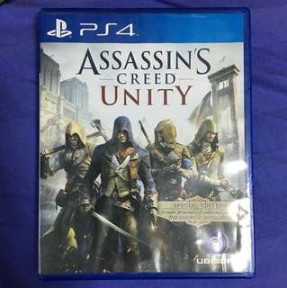 PS4 Assassin's Creed Unity 繁英版