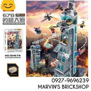For Sale Avengers Tower SY678 (Taller Version)
