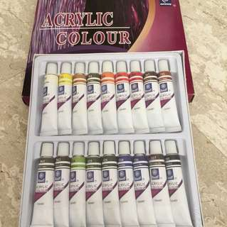 Acrylic Paint Set (Memory Professional Artists)