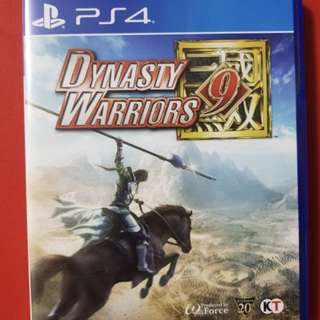 Dynasty Warriors 9 PS4 R3 (w DLC)