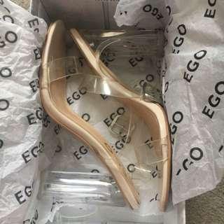 Ego clear heels