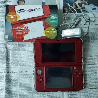 Nintendo New 3DS XL New Red CFW 16gb