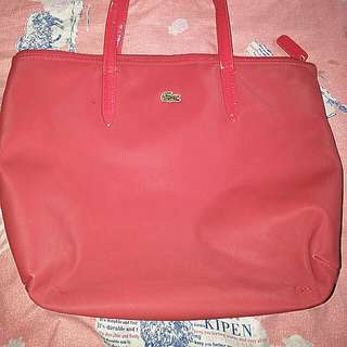 Lacoste Bag Red 150.00