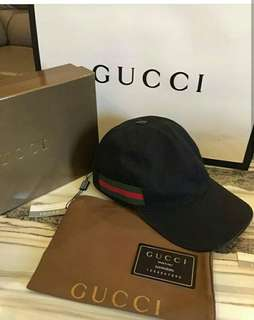 Topi Gucci Mirror Canvas