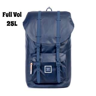 [INSTOCK] HERSCHEL SUPPLY LITTLE AMERICA FULL VOLUME (NAVY TPU COATED)