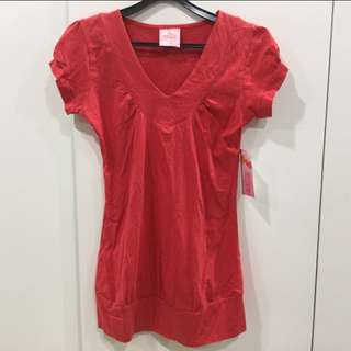 Brand NEW Maternity Top Red