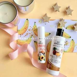 Shampoo Santan & Wonder Oil