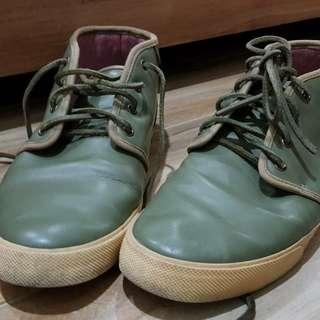 DC Olive Green Skateboard shoes