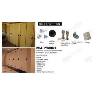 BEST QUALITY TOILET PARTITION--KHOMI