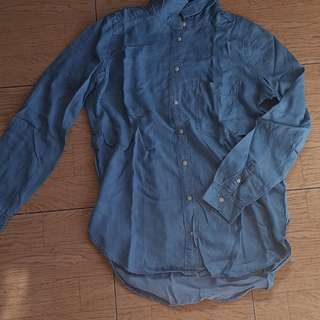 Long sleeved denim