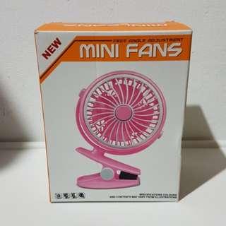 Brand New Portable Fan (Blue)