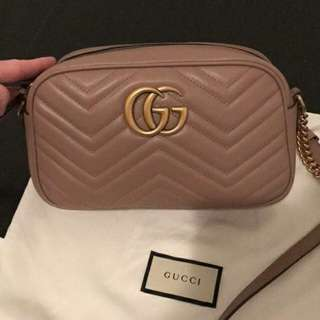 Auth gucci matelasse camera bag small