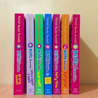 SALE: Dork Diaries Books