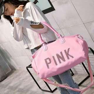 VS PINK TRAVELLING BAG