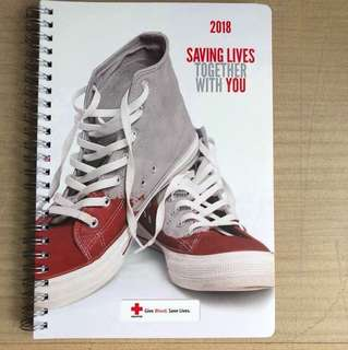 2018 diary and note book