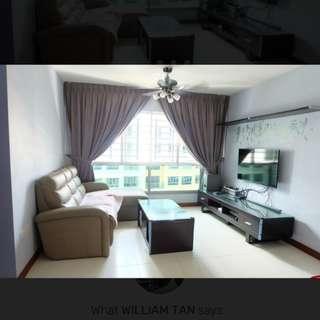 High floor 272A 4 Rm HDB Punggol Walk.