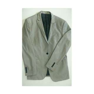 REPRICED Gray Coat/Blazer for Men
